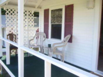 Classic Cottage Porch Area