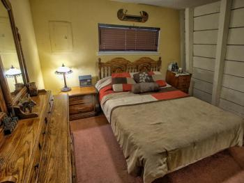 Bedroom located on the main floor