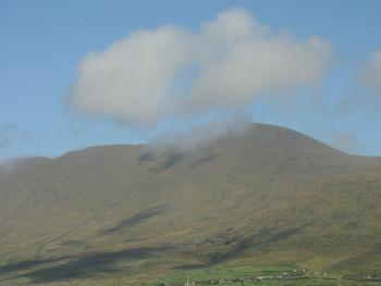 Mt Brandon - View from An Cnoc, The Mountain