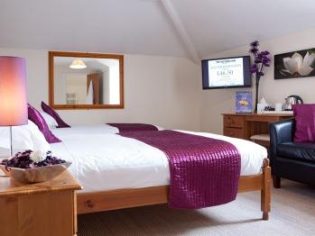 The Victoria Inn - B&B Truro Cornwall, Hotel Truro, Guest Room Truro Cornwall