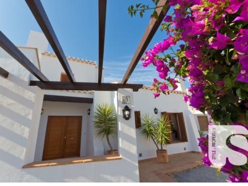 Exterior view of villa
