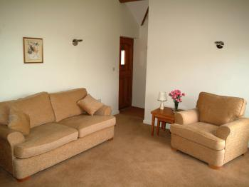Two bedroom cottage open-plan lounge area