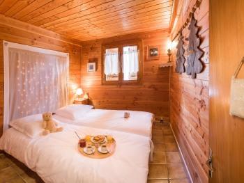 Chambre 2 lits en rez-de-chaussée