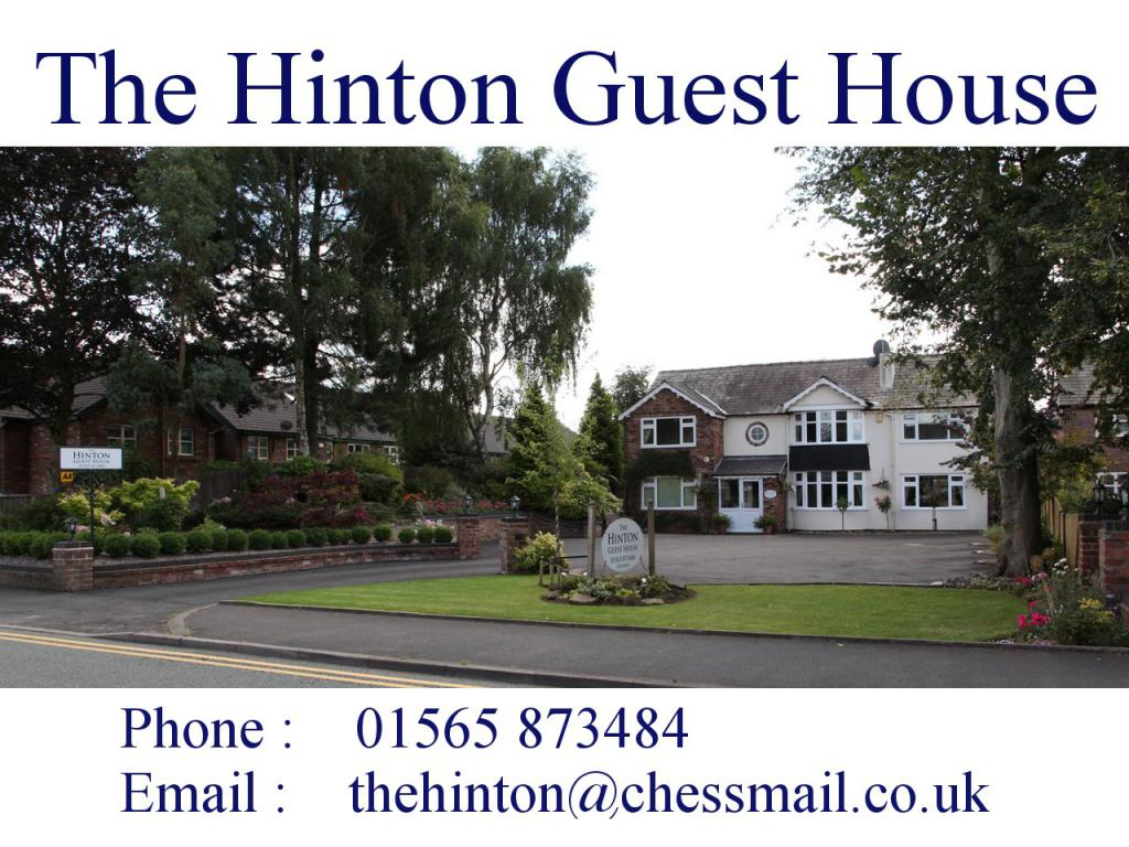 The Hinton Guest House - Welcome -