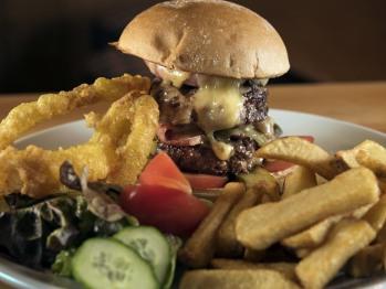 Boscarnon Beef Burger