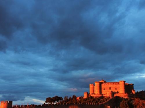 Vistas al Castillo desde el alojamiento