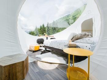 Intérieur de la bulle du Lac