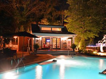 Enjoy a Dip in The Inn's Outdoor Swimming Pool