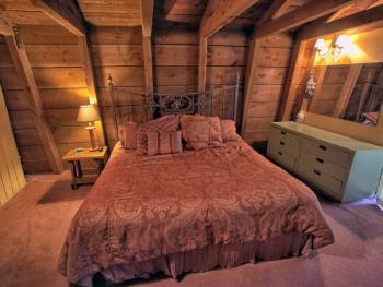 Master bedroom on the third floor