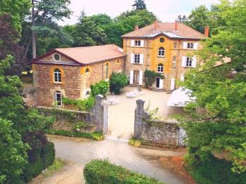 Vue aérienne Manoir Tourieux