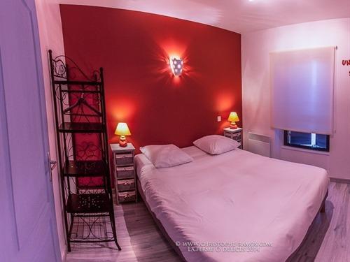 Double-Standard-Salle de bain Privée-Vue sur Lac-La chambre Marocaine