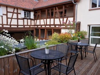 Hameau d'Eguisheim - Terrasse commune