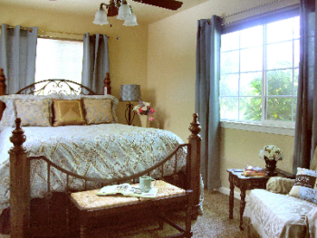 Meritage's serene private bedroom