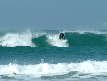 Amazing surf at our local beaches.