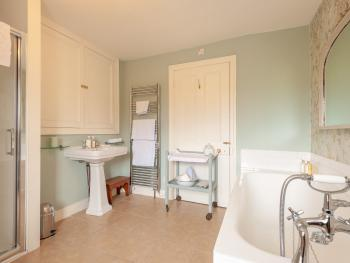 En Suite for our Double Room (Lucy's Room)
