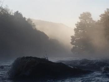 The Meeting of the Waters in an October Mist