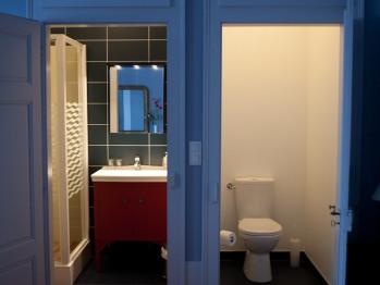 Chambre de Marie, toilettes et salle d'eau indépendantes