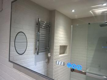 En-suite shower room - Scrabble