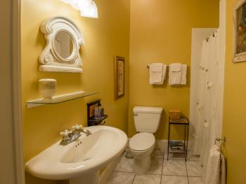 Bathroom - Private Bath (Yellow Room)