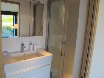 Salle de bains chambre Jaune