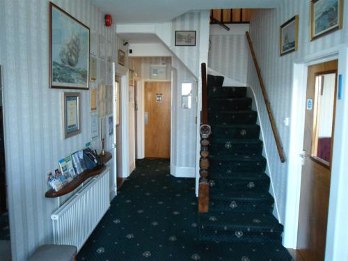 Entrance hallway and stairs to first floor