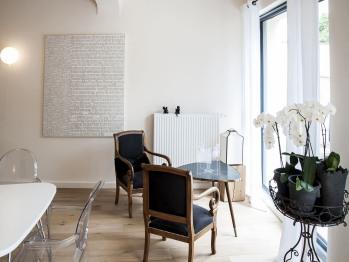 Une décoration de mobilier contemporain et design.