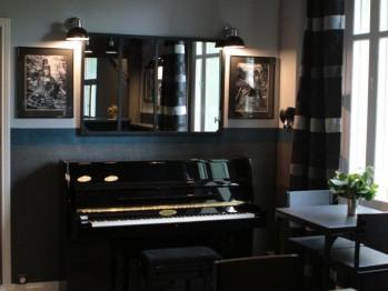 Espace Piano Bar - Au Clos Paillé - Hôtel Charme & Caractère - La Roche Posay - Cure Thermale - Hébergements