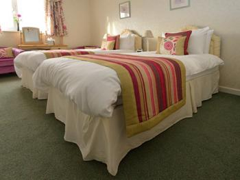 One of our Twin/ Superking bedded rooms