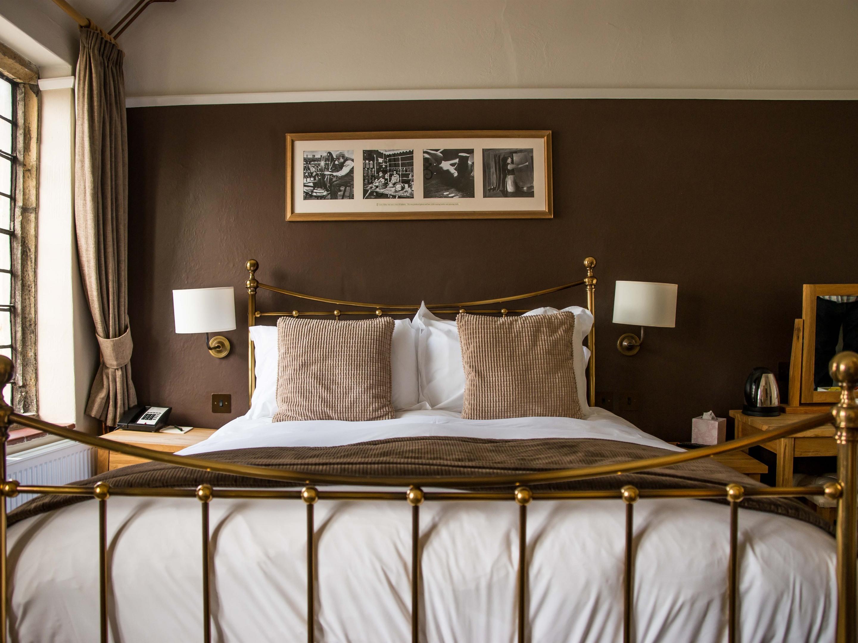 Double En-suite, single bed (Wey)