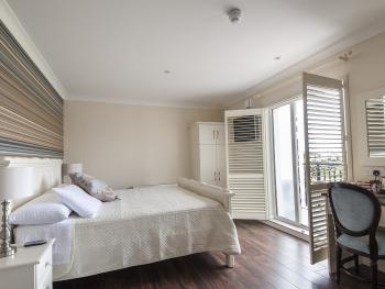 Bay view room with Balcony.