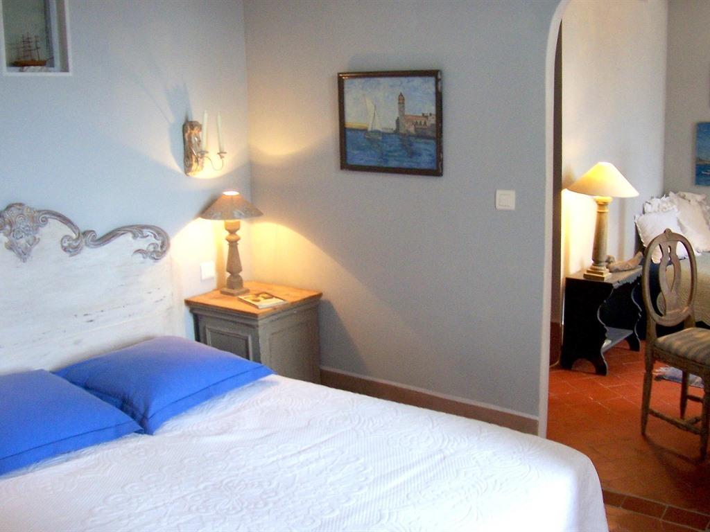 Suite Junior-Salle de bain privée séparée-Collioure
