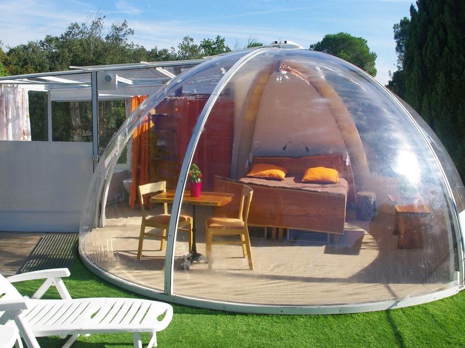 La bulle sur le toit