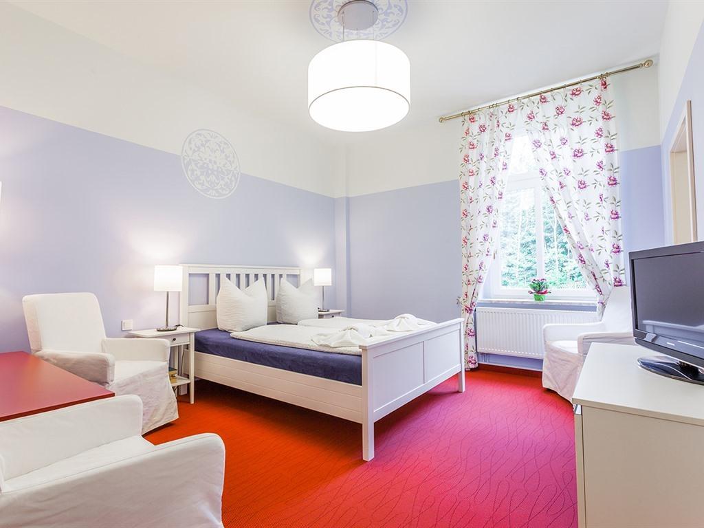 Apartment-Ensuite Dusche-Burg Kriebstein