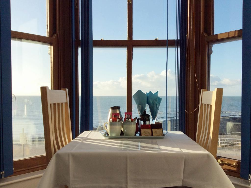 Tea/Coffee facilities; Sea View Room
