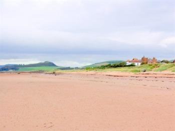 Seamill's extensive sandy beach