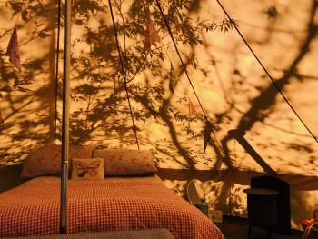 Shadows on Bell Tent