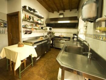 Posada la Rivera de Escalante cocina donde elaboramos su desayuno