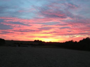 Beatiful Chilterns Sunset