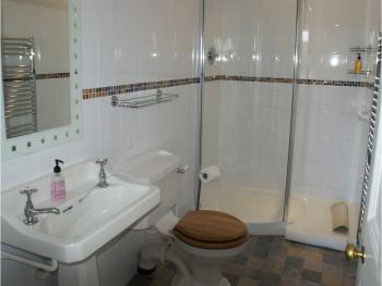 Luxury walk-in shower ensuite