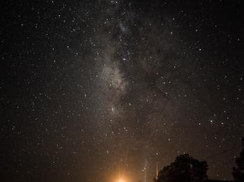 Milky Way from the Front Porch