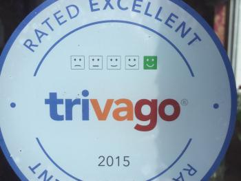 A RECENT AWARD, THIS YEAR, FROM TRIVAGO