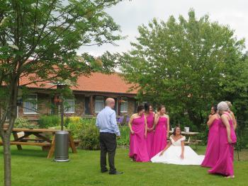 A recent Wedding Party held here at the Red Lion
