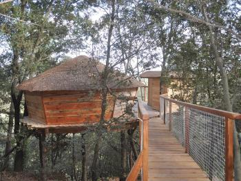 Cabane-Confort-Salle de bain-Vue sur la rivière