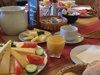 Individuelles Frühstück, kein Buffet