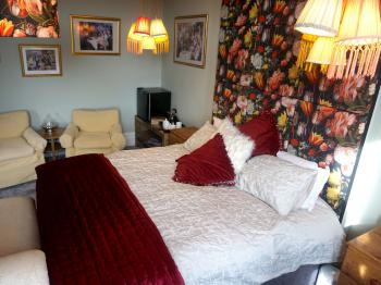 Double room with super king size bed & ensuite bath & shower - Monopoly