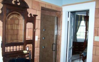 oak room vanity