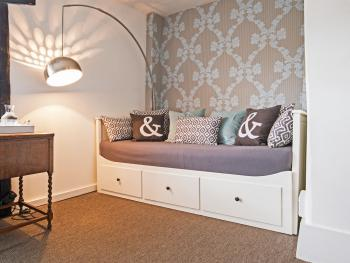 room 3 - family room, extra bed which can open to a double size