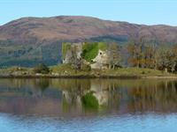 Lachlan Castle and The Oyster Catcher