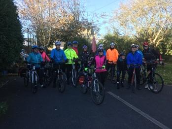 Ladies cycle club