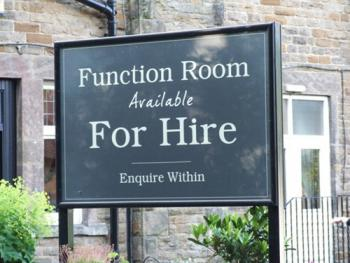 Large function room available
